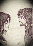 Robb and Jeyne by queenfire