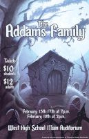 Addams Family Poster Commission by BlackHawk45LC