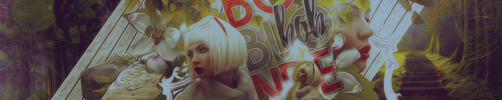 Blonde Bob Banner by xcrusnik