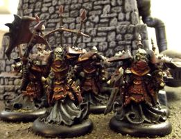 Warmachine: Classic Bane Thralls by JordanGreywolf