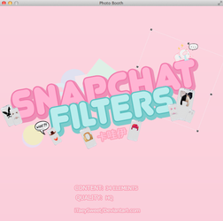 +Snapchat Filters by fxrst-love