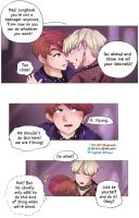 Vkook Blood Sweat and Tears behind the scene 01 by Hyemi1230
