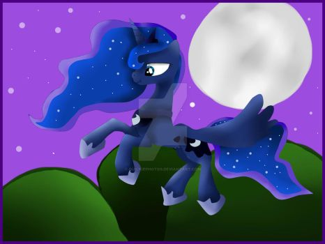Princess Luna - Daughter of Moon by QuickiePhotos