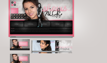Layout ft. Victoria Justice 002 by PixxLussy