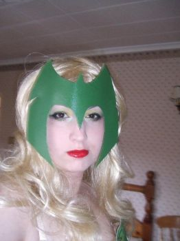 Amora The Enchantress - make-up attempt by ThePixieNixie