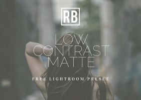 Free Preset Download - Low Contrast Matte by RetouchingBlog