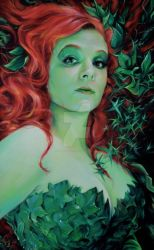 POISON IVY PIN-UP PORTRAIT by FredIanParis