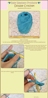 Double Crochet Tutorial by moofestgirl