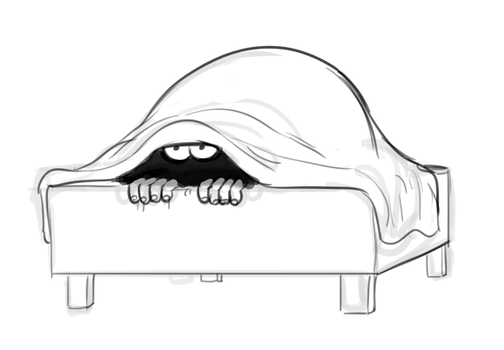 Bed Goblin by Mickeymonster