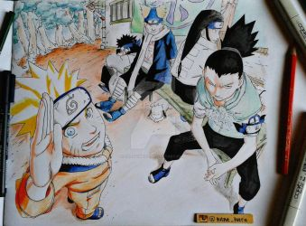 Naruto (Sasuke's recovery team) by exoofink311