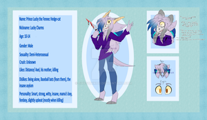 Lucky The Fennec Cat Reference Sheet :redraw:: by xXDreamyPastelsXx