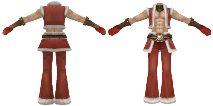 Rappelz: Christmas Outfit - Boy (Rigged) by Jalmod