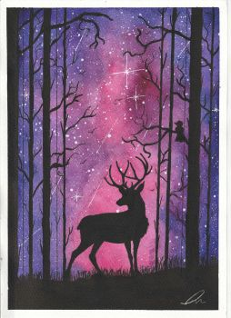 Stag by Adi-Arty