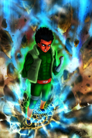 Rock Lee by Saver-Blade