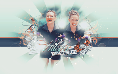 Hilary Duff Wallpaper by only-thi