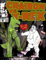 Chairon Vs. T-Rex by Club-House-88