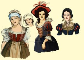 Snow White Dress Designs by hwilki65