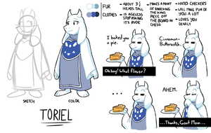 Toriel Reference Sheet by The-PaperNES-Guy