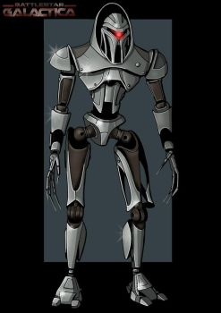 cylon centurion by nightwing1975