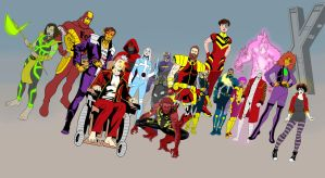 Alll New 52 Amalgam Now X Patrol by Needham-Comics