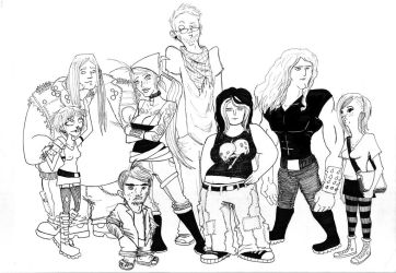 Beautiful People by SpoonOfTheDamned