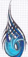 Tattoo doodle in colour by Ashlo4