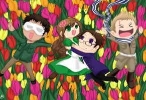 APH - Yay Tulips by Chocoreaper