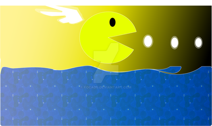 Angel PacMan by Focads
