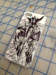 Iphone 5 Spawn Case complete by aestheticreations