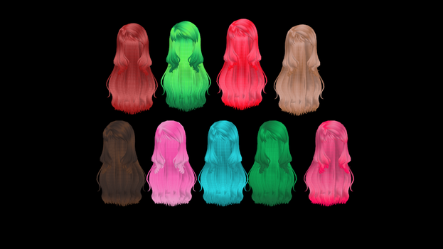 Random Hair Textures Pack 1 by Madison15711