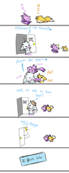 DONT FEEL BAD FOR YOUR PETS :c by Faezza
