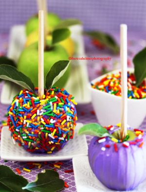 Candy Apples by theresahelmer