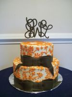 Orange bridal shower by see-through-silence