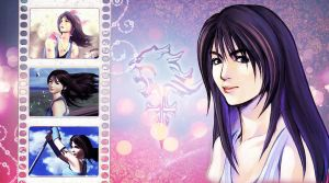 Rinoa Wallpaper by Mufurcka