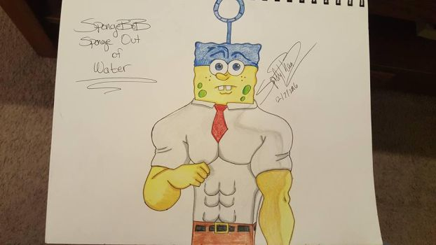 SpongeBob - Sponge Out Of Water by spidyphan2