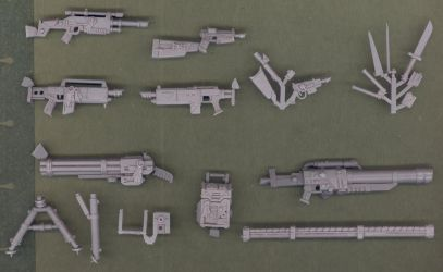 Las Weapons for Inquisitor by MechanicalHorizon