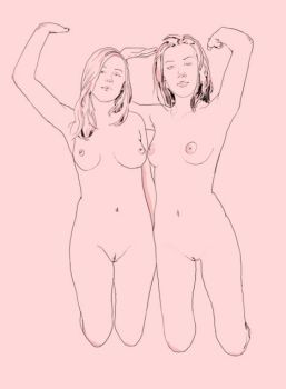 Two Girls by juliehall