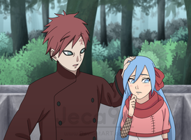 Contest Entry | Gaara and Shiina by Jeca96