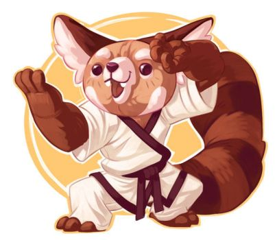 Unused Tang Soo Do Panda by stplmstr