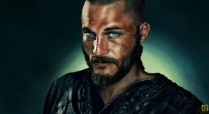 Ragnar Lothbrok by Sathoryn