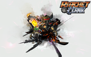 Ratchet and Clank Wallpaper by alex8546