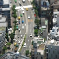 Tokyo Toys Tilt Shift by WireAddict