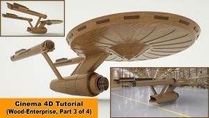 Wood Enterprise - Part 3 (Cinema 4D Tutorial) by NIKOMEDIA