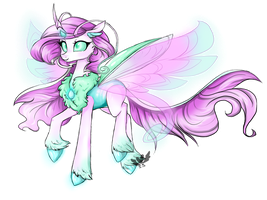 Changeling Princess PAYPAL AUCTION (CLOSED) by SapphireScarletta