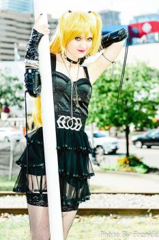 Death Note - Misa Misa on the Pole by SovietMentality