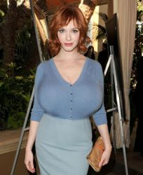 Christina Hendricks Breast Expansion Morph by Zealot42