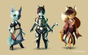 Style Characters by PurpleLemons