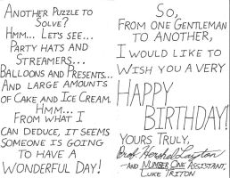 Professor Layton B'Day Card 2 by GeebMachine