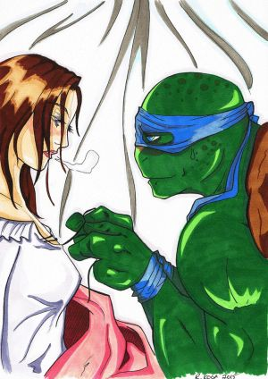 TMNT: SOD Chapter 27 (Fluff) Celeste`s Nightmare by