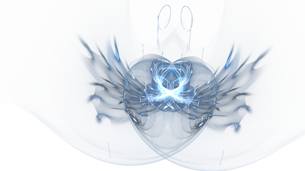 Ice heart by ForgottenGhosts